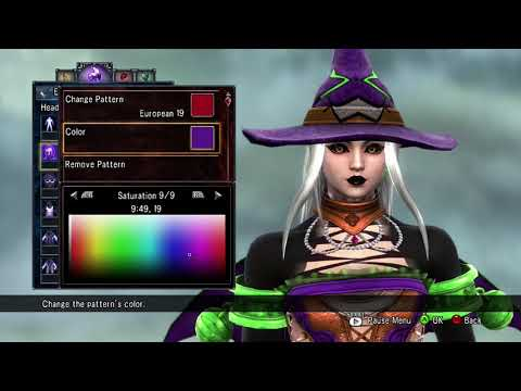 Soulcalibur V: How to create my OC Miss Wicked