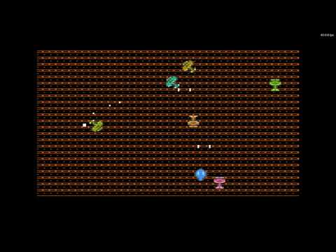 Atari XL/XE sprite multiplexer engine