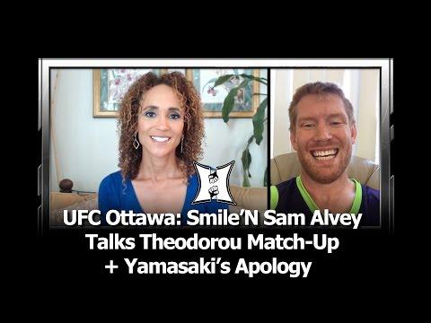 UFC Ottawa: Sam Alvey On Theodorou Match-Up, Ref Yamasaki's Apology After KO Loss To Brunson