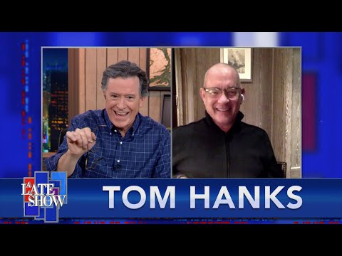 Tom Hanks Takes 'The Colbert Questionert'