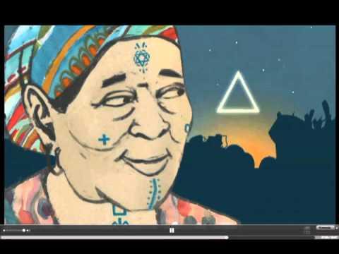 Les tatouages berbères en dessin animé