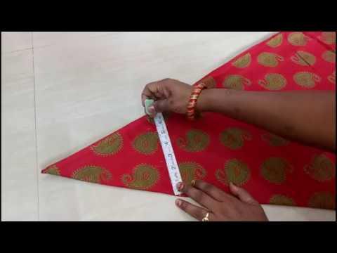 Cut & Sew Circular Umbrella  Summer Frock Part-1