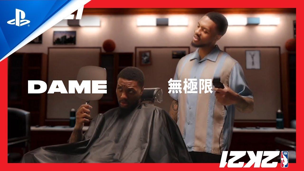 《NBA 2K21》:Dame無極限(目前世代封面球星)