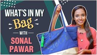 What's In My Bag ft. Sonal Pawar | Tula Pahate Re | Raat Chandana