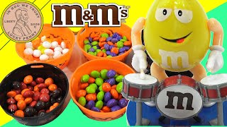 Halloween M&M's 6 Tasty Flavors & Candy Dispensers