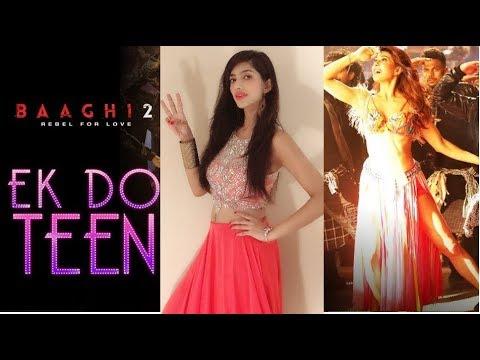 Baaghi 2: Ek Do Teen Song | Jacqueline Fernandez | Amazing Dance by Mishka Tarkar