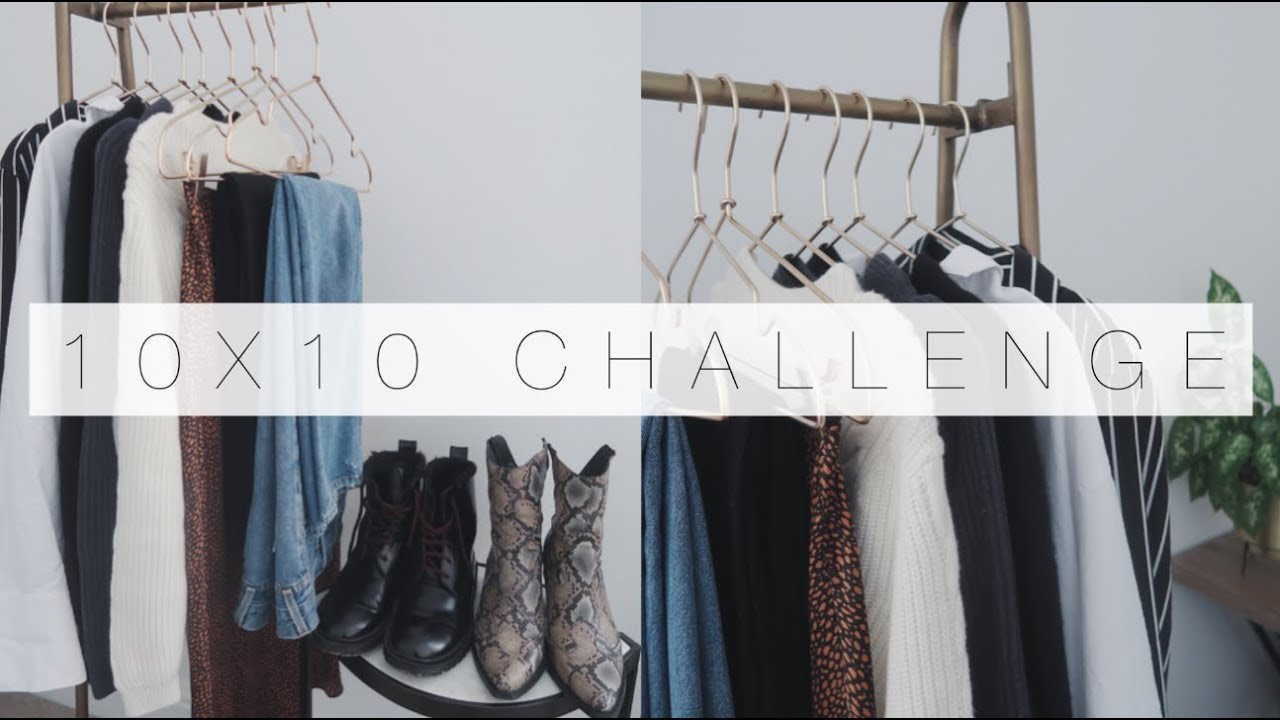 [VIDEO] - 10 Items, 10 Outfits | Capsule Wardrobe 10x10 Challenge | The Anna Edit 2