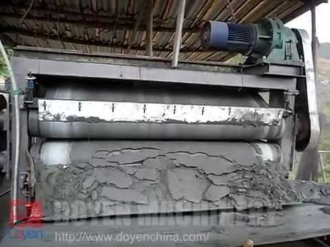 Antimony slurry process at antimony ore mine plant