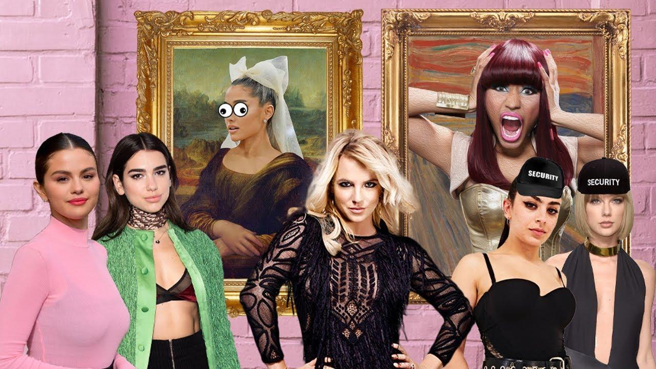 Celebrities at a Museum w/ Britney Spears, Ariana Grande, Dua Lipa & More