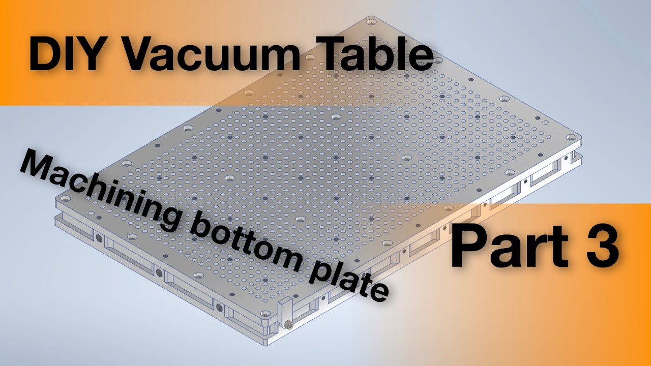 Diy Vacuum Table For Cnc Machines Hackaday Io