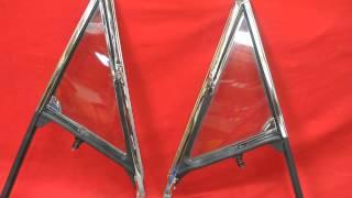 1964 1965 Oldsmobile Cutlass 442 Vent Window Frames