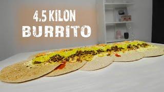 4.5 KILON BURRITO || 8 500 kcal