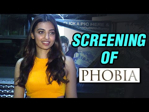 Radhika Apte At The Screening Of Phobia | Psychological Thriller | Movie 2016
