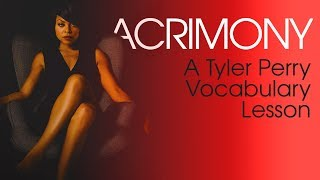 Tyler Perry's Acrimony Movie Trailer Teaches Meaning Of Acrimony