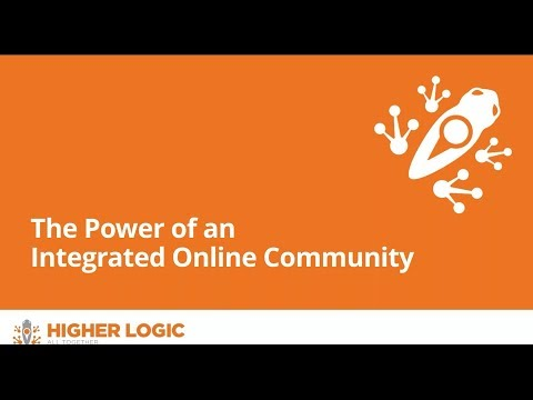 The Power of an Integrated Online Community