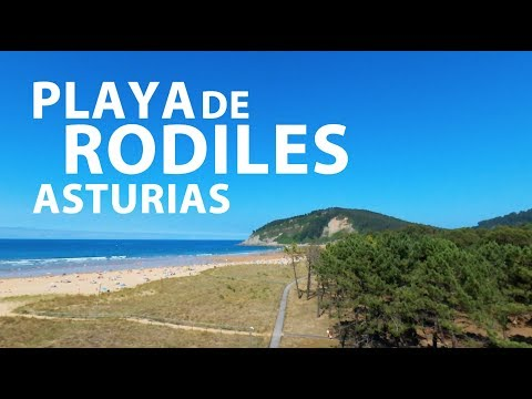 video about Rodiles beach and the Villaviciosa estuary