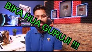 BIKA HUA GURUJI !!! | PAID POSITIVE REVIEWS REPLY TO Technical GURUJI