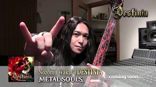 Nozomu Wakai's DESTINIA『METAL SOULS』COMING SOON...②