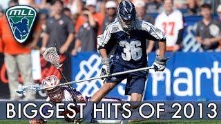 Major League Lacrosse: Biggest Hits of 2013