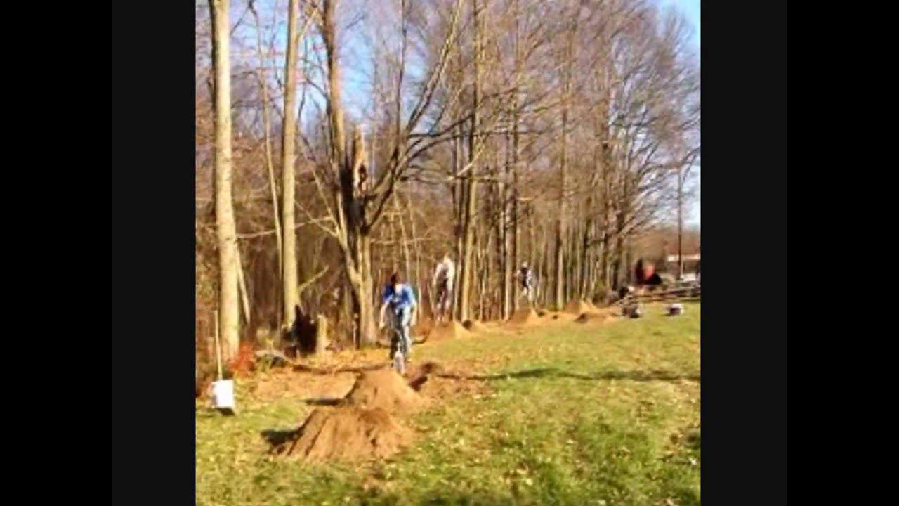 Backyard Bmx dirt jumping - YouTube