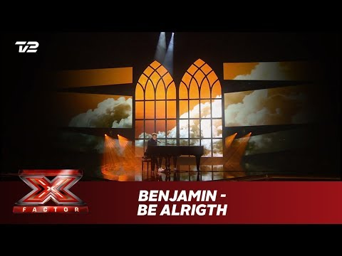 Benjamin synger 'Be Alright' - Dean Lewis (Live) | X Factor 2019 | TV 2