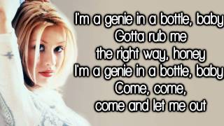 Christina Aguilera - Genie In A Bottle (Lyrics) HD