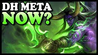 "Grubby | ""DH Meta Now?"" | Warcraft 3 | 1.31 | NE vs UD | Amazon"