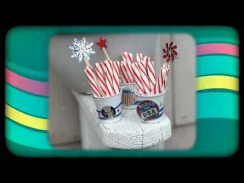 patriotic craft ideas for 4th of july dollar store crafts youtube. Black Bedroom Furniture Sets. Home Design Ideas