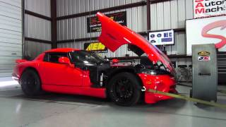 "Viper makes ""Beastly"" 666 RWHP with Paxton Supercharger"