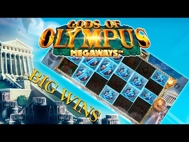 BIG WINS ON GODS OF OLYMPUS MEGAWAYS (Blueprint)