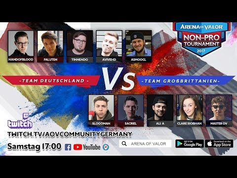 Arena of Valor NON-PRO Tournament AoV NPT W3 [GER VS UK]