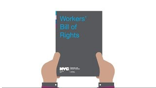 NYC Workers' Bill of Rights Animation