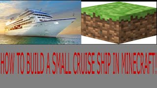 How to build a small cruise ship in minecraft! - part 24 - SHops!