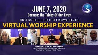 June 7, 2020: Communion Sunday Virtual Worship Service