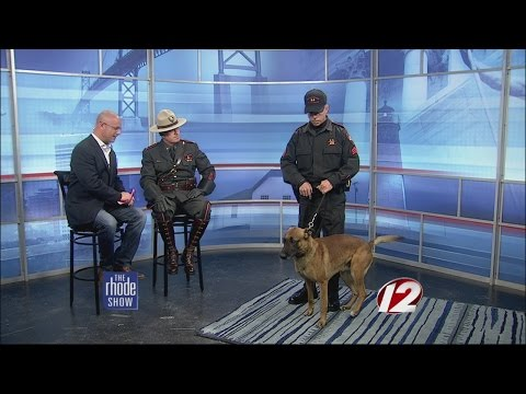 RI State Police recreate iconic Letterman moment