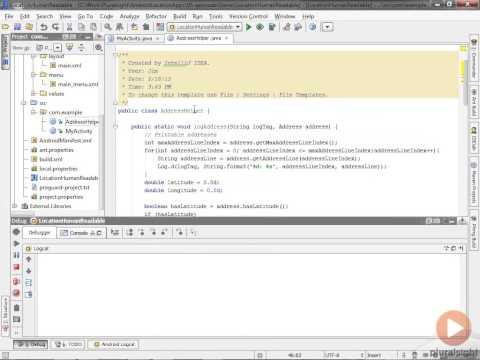 Network Gate Demo - Geocoder class Human-Readable Location Information