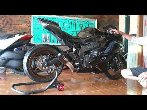 cek-sound-knalpot-custom-zx25r-pakai-austin-racing-harga-bersahabat
