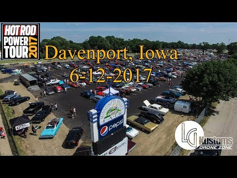 Hot Rod Power Tour 2017 - Mississippi Valley Fairgrounds in Davenport Iowa