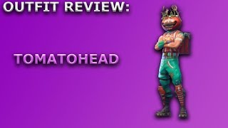 Tomatohead Outfit Review + Skin Showcase! (Crown Style) ~ Fortnite Battle Royale