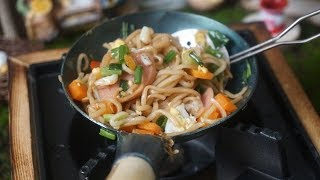 #Food video 🥘 Fried noodles with miniature cooking utensils 🥘Tiny Cooking | Hobby Cook #3