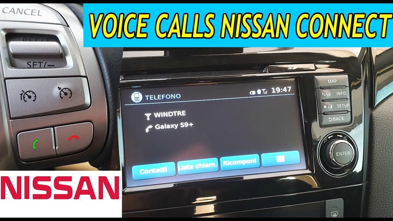 Nissan Connect Chiamata Vocale Dai Tasti Sul Volante | Nissan Connect Voice Call Qashqai Juke Rogue