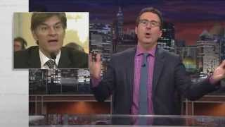 dr oz and nutritional supplements last week tonight with john oliver hbo