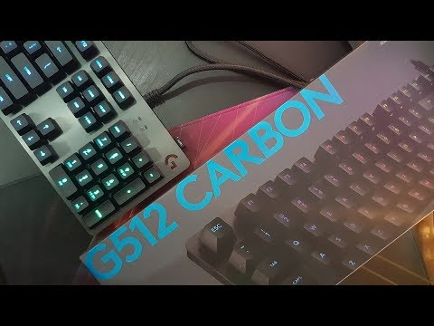 da600fa4487 Logitech G512 Carbon Mechanical RGB (Linear) | Harga Segini, Dapetnya  Segitu? - #ReviewBray - YouTube