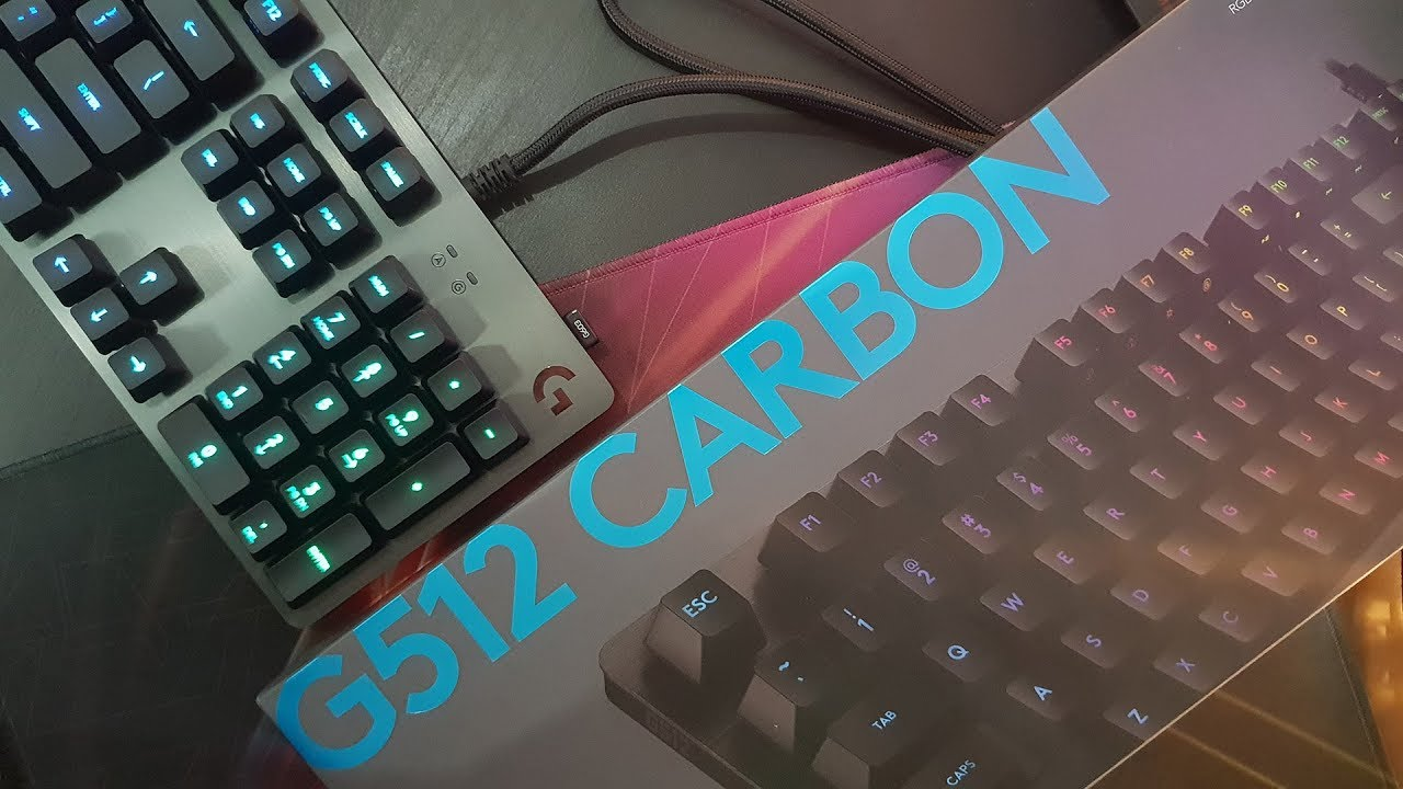 385f6860a85 Logitech G512 Carbon Mechanical RGB (Linear) | Harga Segini, Dapetnya  Segitu? - #ReviewBray