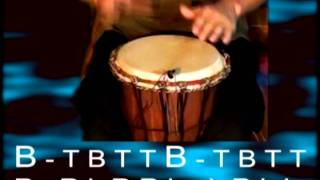 Урок по джембе 3 ч.1; Djembe lesson 3 p.1(Первая часть третьего урока по джембе. Тема занятия - ритмические тройки. This is a first part of the third lesson on djembe from..., 2011-11-19T16:44:50.000Z)