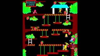カンガルー / Kangaroo サン電子 1982 291900pts 10周クリアまで Player...