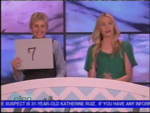 Ellen DeGeneres and Portia de Rossi Play the Newlywed Game