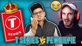 FULL SUPPORT T-SERIES || PEWDIEPIE VS T-SERIES