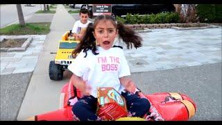 ألعاب الأطفال سيارة اطفال ماكدونالدز العاب طبخ Heidi و Zidane