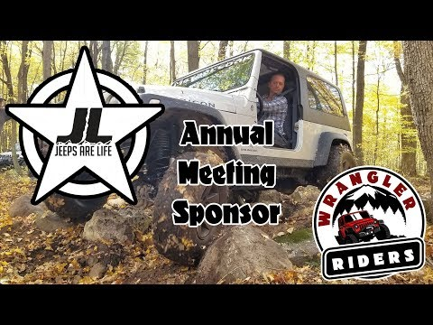 Jeeps Are Life Annual Meeting Sponsor!